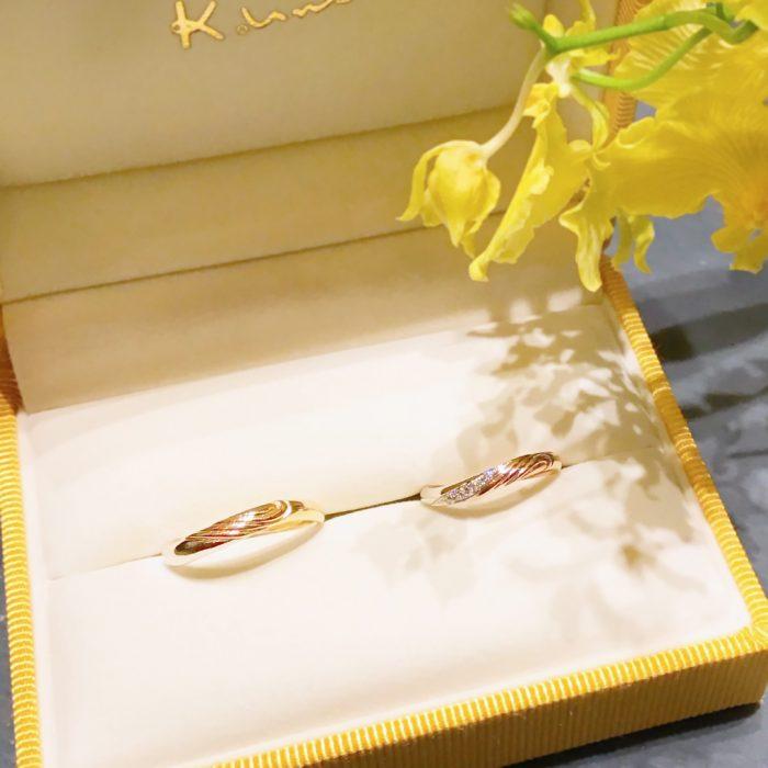 ケイウノ広島店_オーダーメイド結婚指輪1_広島