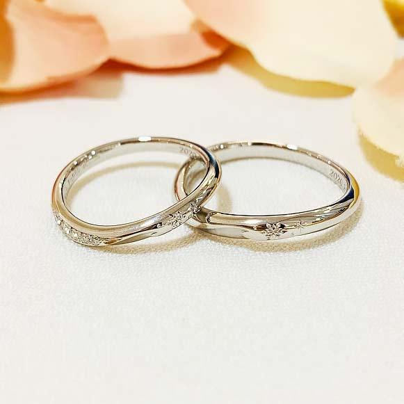 結婚指輪_ウェイヴ_アレンジ