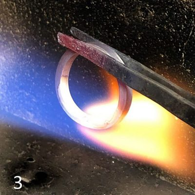結婚指輪手作り_DIY体験様子3