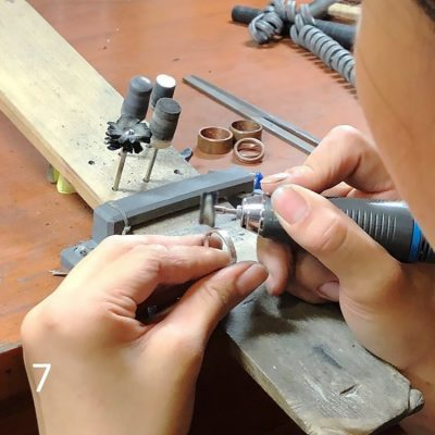 結婚指輪手作り_DIY体験様子7