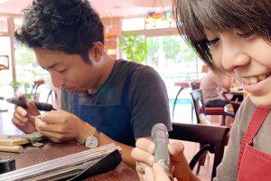 沖縄_結婚指輪手作り2