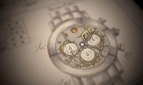 銀座_オーダー腕時計_愛犬2