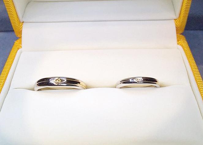 栄店で注文のオーダーメイド結婚指輪