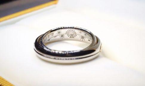 結婚指輪リング内側デザイン