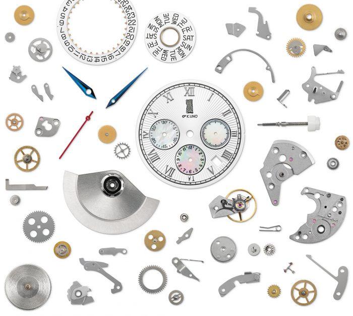 時計の部品画像