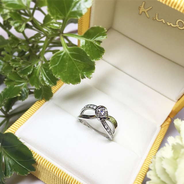 札幌店オーダーメイドの婚約指輪3