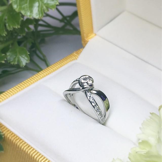 札幌店オーダーメイドの婚約指輪