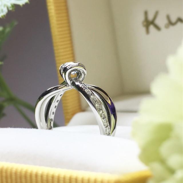 札幌店オーダーメイドの婚約指輪2