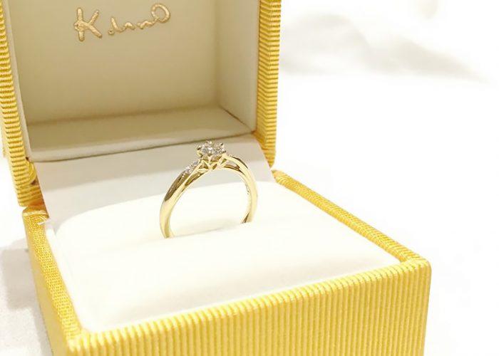 5周年の婚約指輪