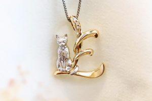 猫ネックレス