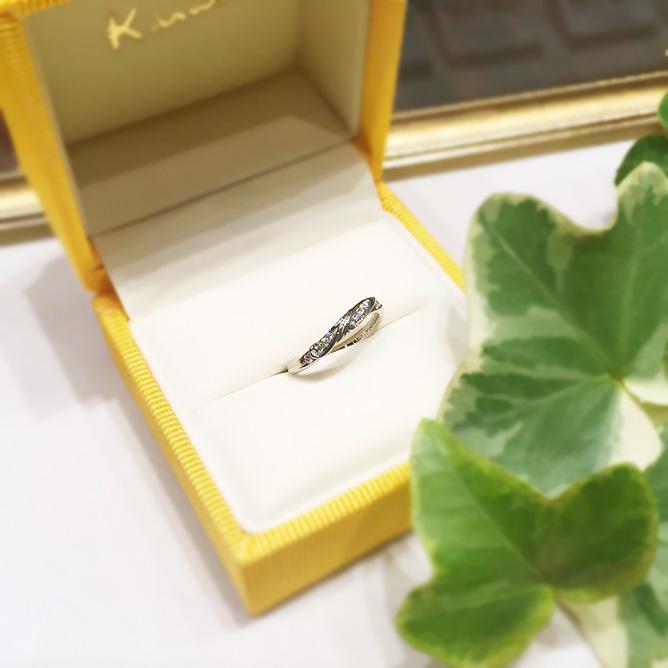 結婚10周年の指輪