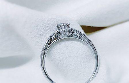 プロポーズの婚約指輪1
