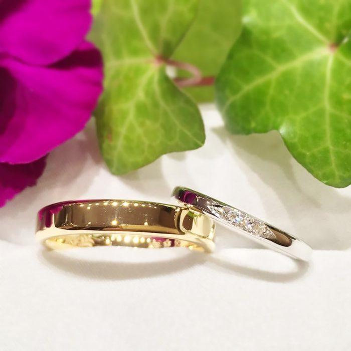 金沢手作りの結婚指輪