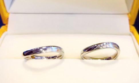 木目金の結婚指輪