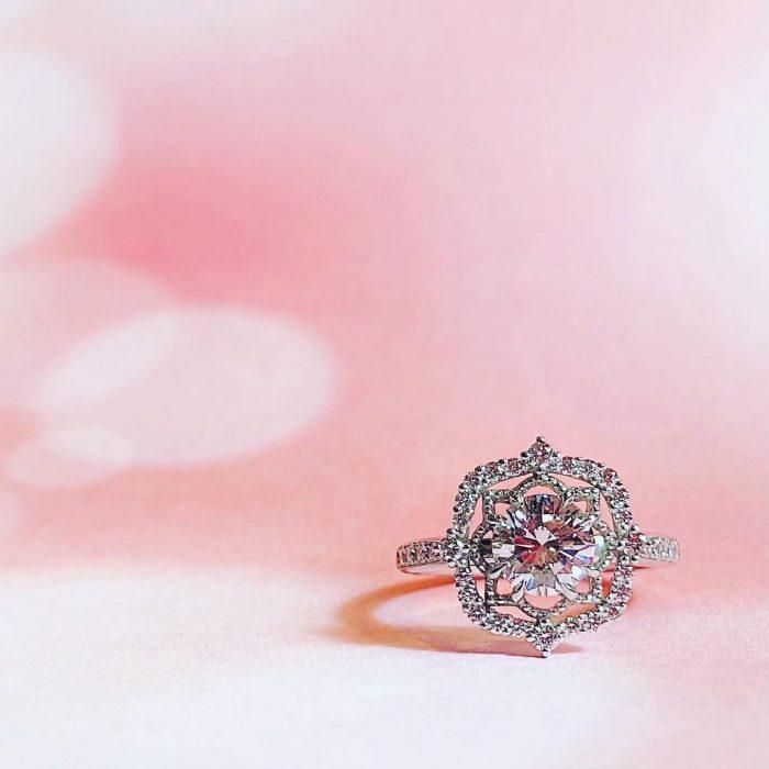 沖縄店の婚約指輪リフォーム