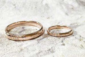 大きなサイズの結婚指輪1