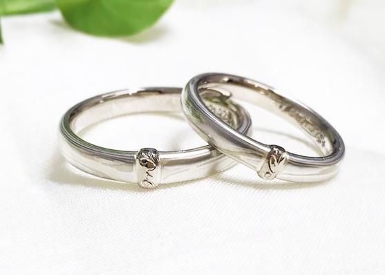 仙台木目金の結婚指輪
