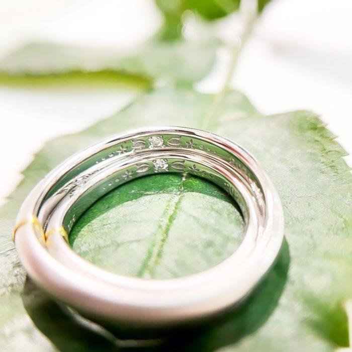 結婚指輪の内側